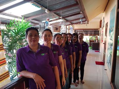 Staff of Bua Sawan Spa