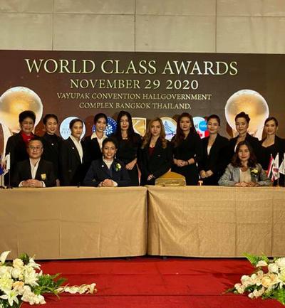 Winners of world class awards 2020