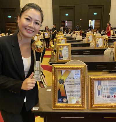 International health & beauty master certificates