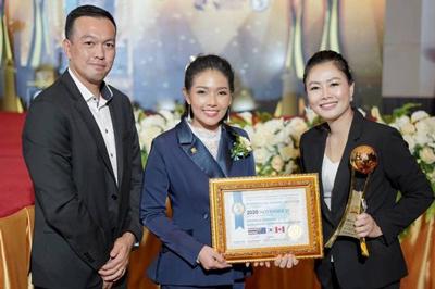 Certificate of International health & beauty master